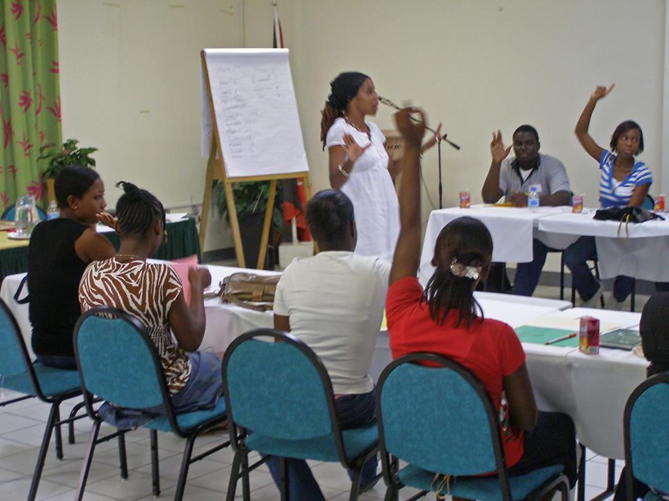 Brenda Lee Just Write With Browne Art Culture Antigua